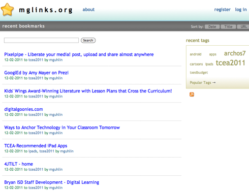 Google To the Rescue – Importing Delicious Bookmarks ...